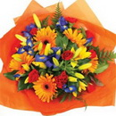 Доставка цветов.ру: букет Оранж-Блю