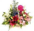 Доставка цветов.ру: подарок Чудеса в корзинке