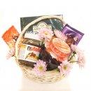 Доставка цветов.ру: подарок Чайная корзина