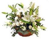 Доставка цветов.ру: подарок Цветочная корзина