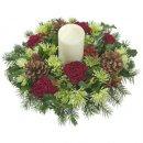 Доставка цветов.ру: композиция Новогоднее чудо