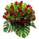 Доставка цветов.ру: букет Море роз