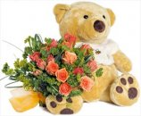 Доставка цветов.ру: букет Желаю счастья. Пух