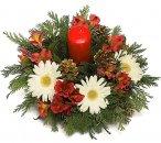 Доставка цветов.ру: композиция Волшебное новогоднее настроение