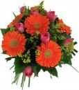 Доставка цветов.ру: букет Love Оранж