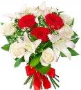 Доставка цветов.ру: букет Вдохновение