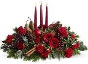 Доставка цветов.ру: композиция Новогодний декор