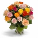 Доставка цветов.ру: букет Первоклассные цветные розы