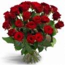 Доставка цветов.ру: букет Первоклассные красные розы