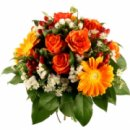 Доставка цветов.ру: букет Огонек души моей